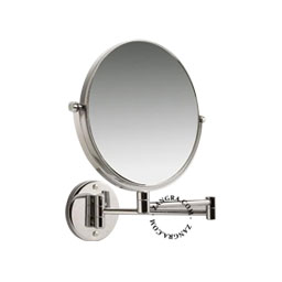 magnifying swivel mirror