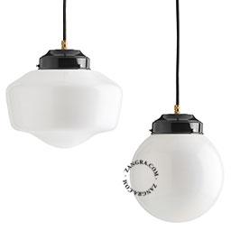 metal-lampe-noir-laiton-plafonnier