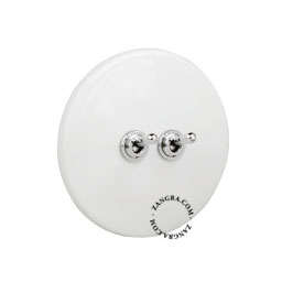 white-porcelain-light-toggle-switch-two-way-push-button-dimmer