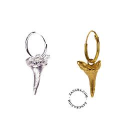 earring-jaws-men-women-jewellery-gold-silver