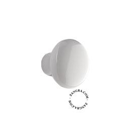 porcelain cupboard knob