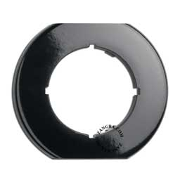 single cover bakelite black
