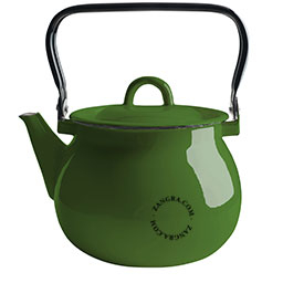 bouilloire-email-vert-vaisselle