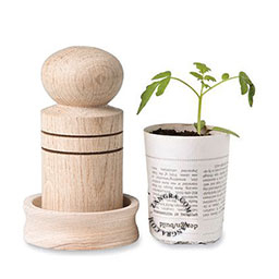 paper-pot-press-wood-handmade-garden