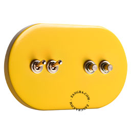 metal-light-toggle-switch-two-way-push-button-yellow