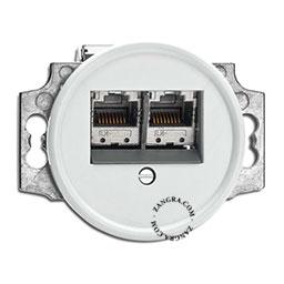 data outlet bakelite