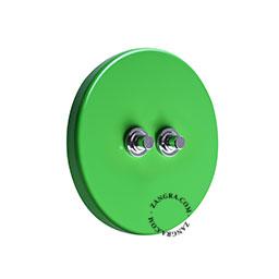 schakelaar-metaal-lichtschakelaar-wisselschakelaar-drukknop-groen