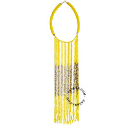 fairtrade-bead-necklace-glass-yellow-ethnic-multicolor