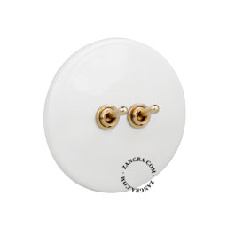 white-porcelain-light-toggle-switch-two-way-push-button-dimmer-brass