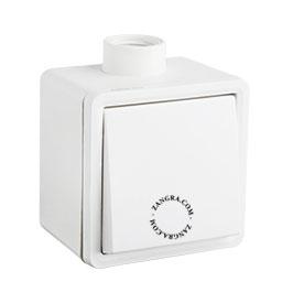 splashproof surface-mounting switch