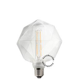 adaptor-LED-globe-dimable-bulb-lightbulb-glass-clear-quartz