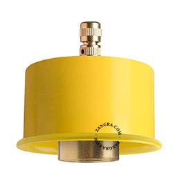 light-pendant-lamp-lighting-metal-yellow