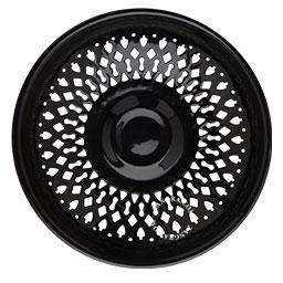 enamel dish black