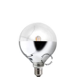 adaptor-mirror-LED-globe-dimable-bulb-lightbulb
