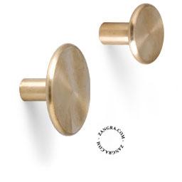 brass hook door knob