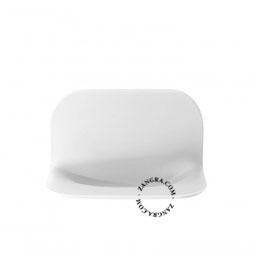 soap holder in polyurethane gel - white