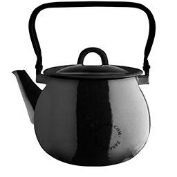 black-enamel-kettle-tableware