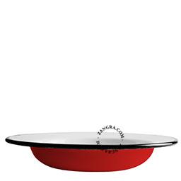 assiette-creuse-soupe-email-rouge-vaisselle