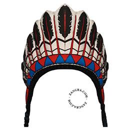 kids013_002_s-happyeti-indien-indiaan-hoed-indian-hat