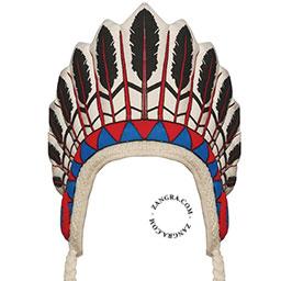 kids013_001_s-happyeti-indien-indiaan-hoed-indian-hat