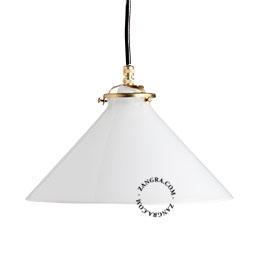 suspension-verre-lampe-opale-laiton-plafonnier