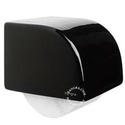 toilet-paper-holder-ceramic-bathroom-accessories-black