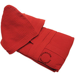 bathrobe-red-cotton-honeycomb
