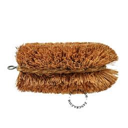 coconut fibre brush