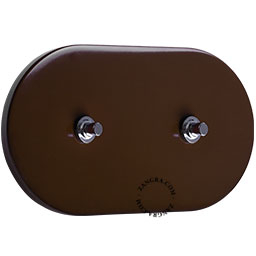 metal-light-toggle-switch-two-way-push-button-brown
