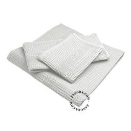 honeycomb-towel-light-grey-cotton