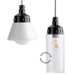 lampe-plastique-noire-murale-applique-bakélite