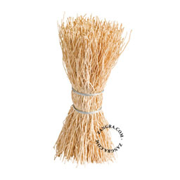 dish brush / scrubber made of rice root, eco-friendly, biodegradable