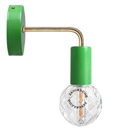 lampe-applique-murale-metal-vert