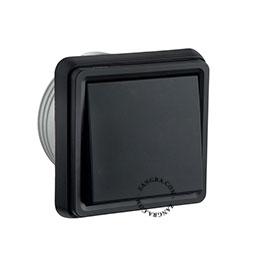 splashproof flush-mounting switch