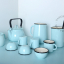 ivory-enamel-carafe-jug-tableware-blue