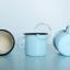 blue-ivory-mug-tableware-enamel
