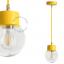 light-pendant-lamp-lighting-metal-yellow-glass-globe-shade