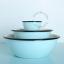 blue-ivory-bowl-tableware-enamel