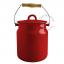 red-enamel-table-bin