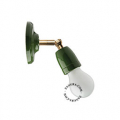 groen porseleinen lamp
