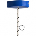 metal-ceiling-rose-ceiling-cup-lighting-blue