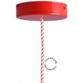 metal-ceiling-rose-ceiling-cup-lighting-red