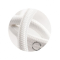 câble tissu - blanc