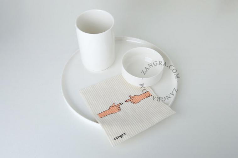 compostable dishcloth