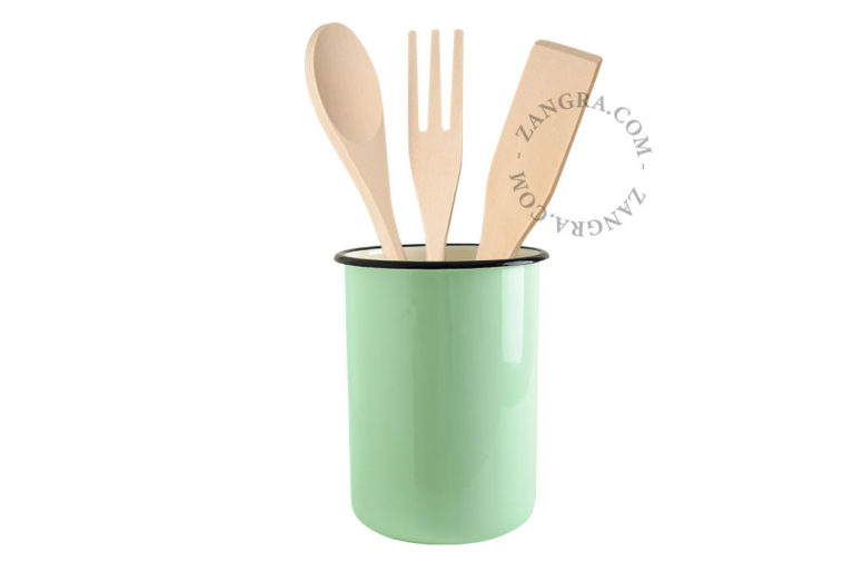 enamel-jar-tableware-mint