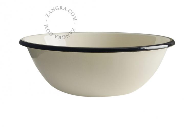 bowl-tableware-ivory-enamel