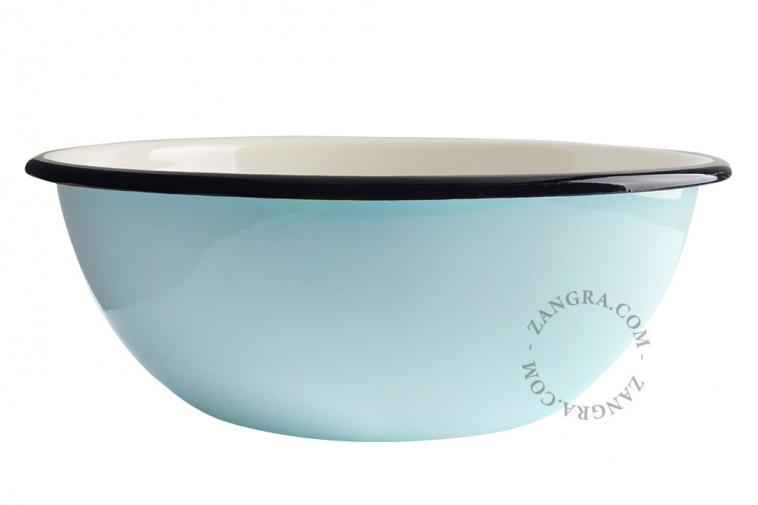 salad-blue-ivory-tableware-bowl-enamel