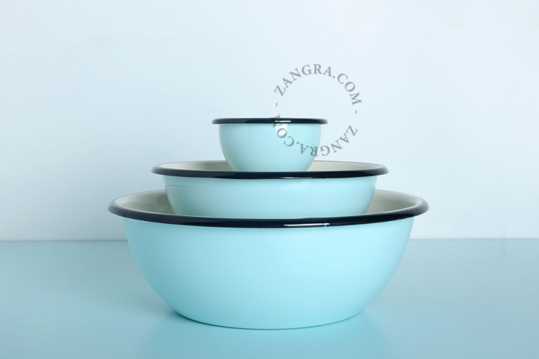 bowl-blue-enamel-salad-ivory-tableware
