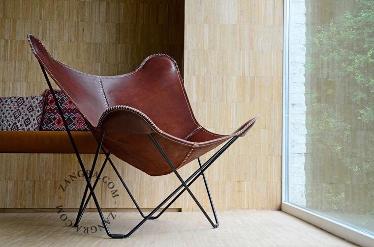 AA-chair-butterfly-brown-BKF-leather-cowhide