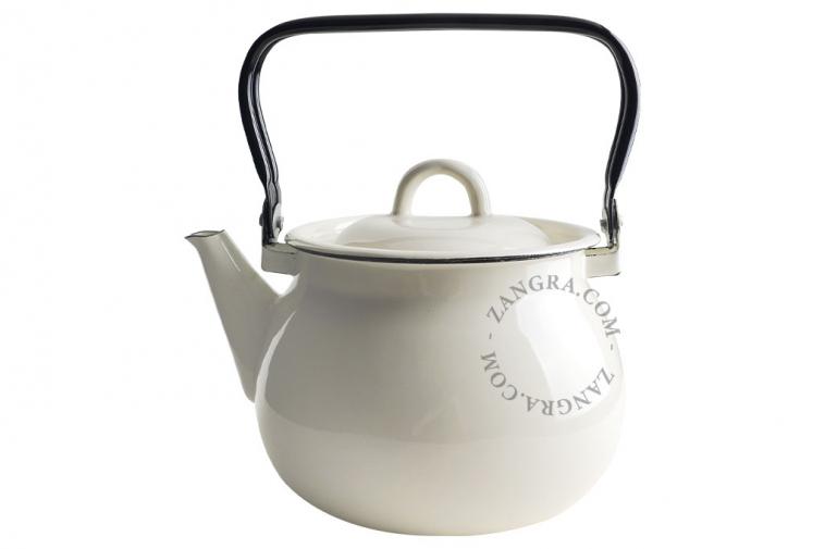 tableware-ivory-enamel-kettle